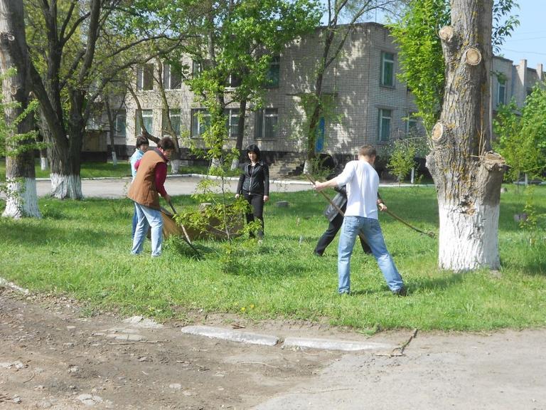 Працівники ОПТУ долучились до акції «Чисте місто»