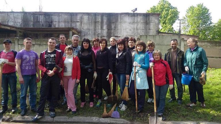 Про участь в акції «За чисте довкілля»
