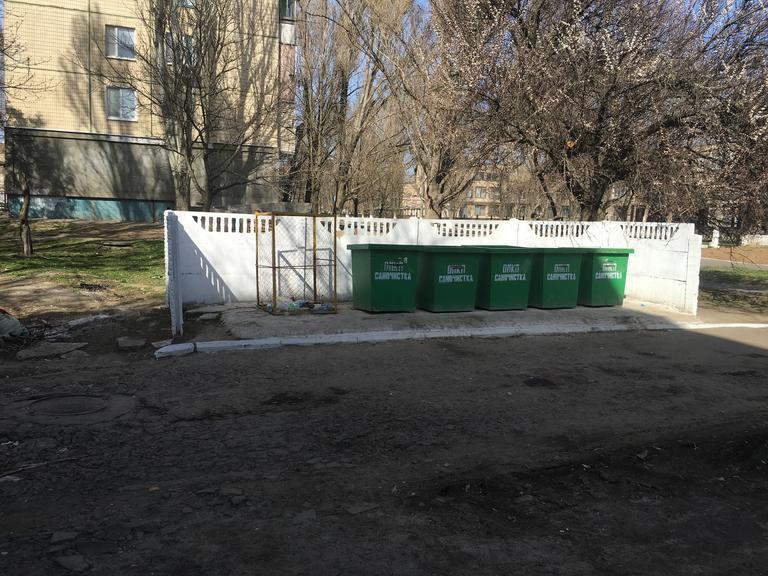 В городе увеличился объем мусора