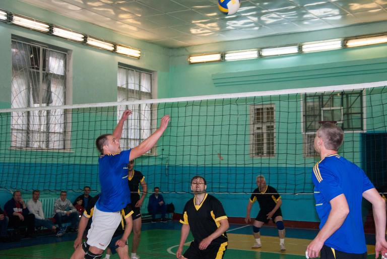 Первый этап Кубка по волейболу