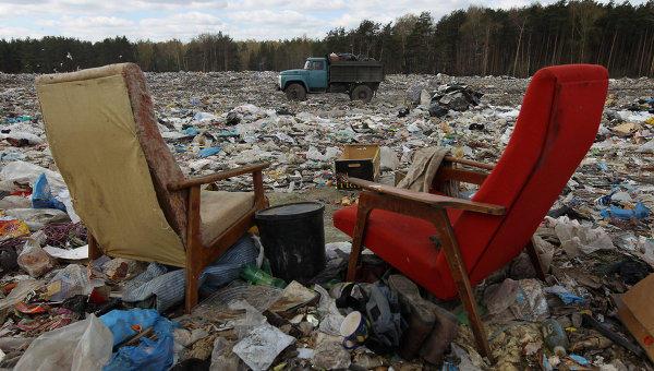 Городской мусорный полигон хотят защитить от возможных возгораний
