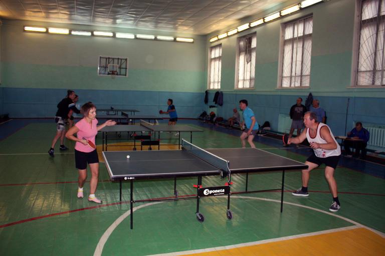 Разыграли открытый Кубок профкома по настольному теннису (ФОТО и ВИДЕО отчет)