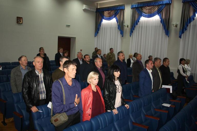 Воинам АТО присвоили звание Почетный гражданин Покрова