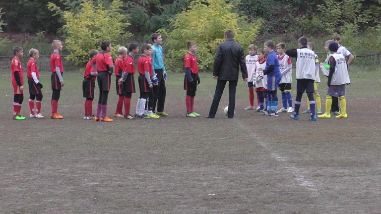Юные футболисты Покрова сыграли в Кубке области
