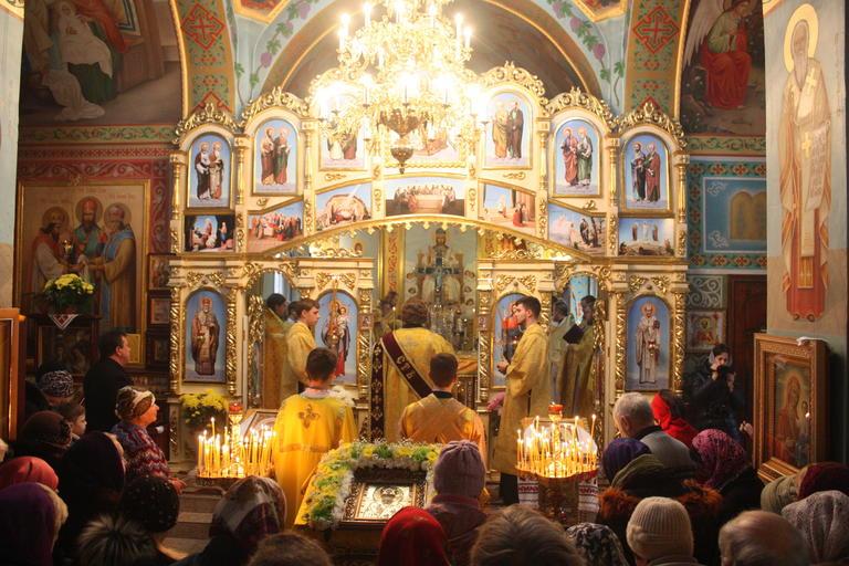 Престольный праздник в храме Иоанна Златоуста