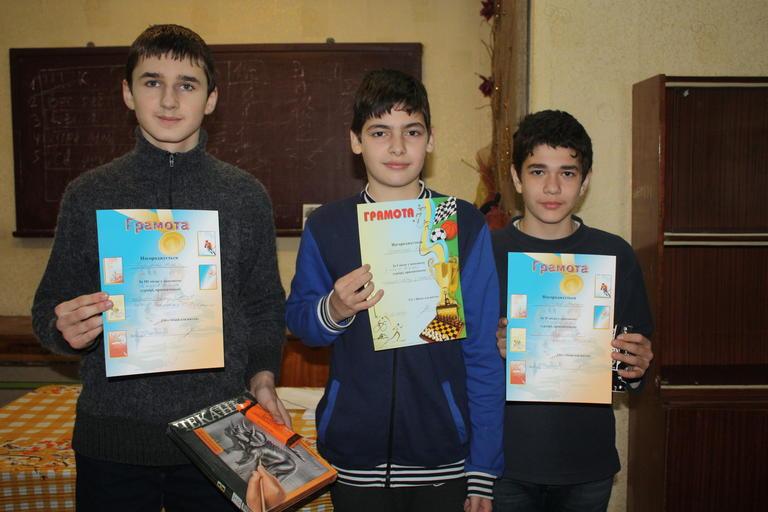 Прошел первый чемпионат города по шахматам Фишера