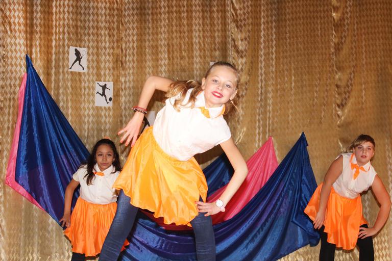 В Покрове прошел фестиваль спортивного танца