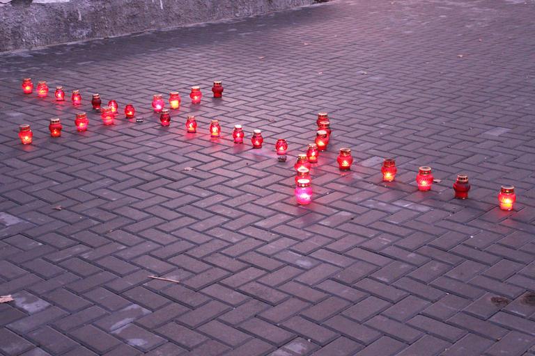 В Покрове почтили память жертв голодоморов