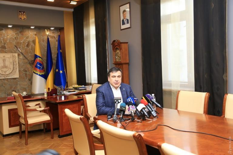 Саакашвили о мэре Одессы: Вор должен сидеть в тюрьме, а не в горсовете