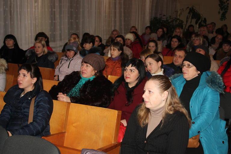 Городской голова встретился с родителями учеников УВК №1