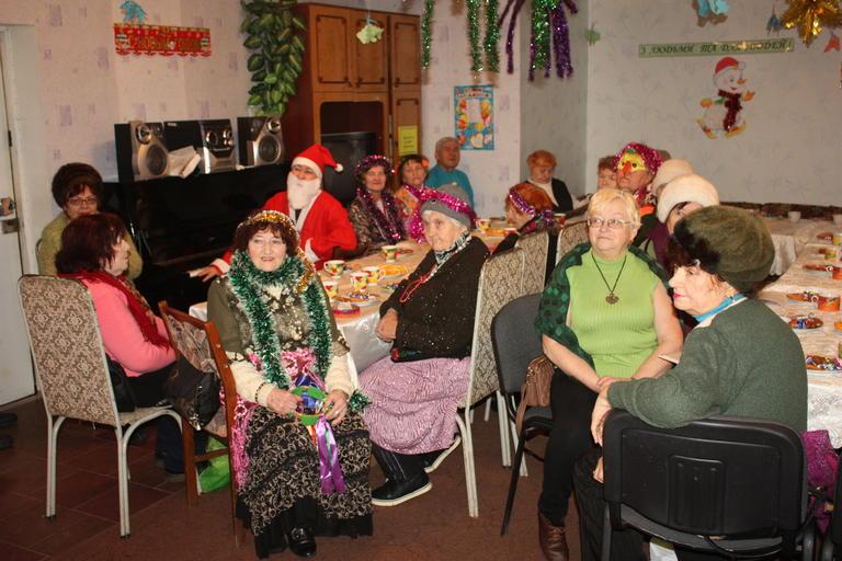 Новогодний праздник в городском терцентре (+ВИДЕО)
