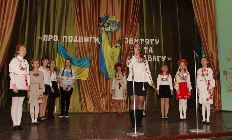 Фестиваль патріотичної пісні в СЗШ №9