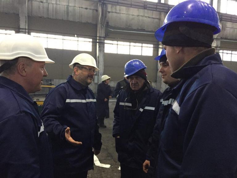 Трубники Никополя поддержали пакет законопроектов Вилкула по спасению промышленности «Новая Индустриализация»