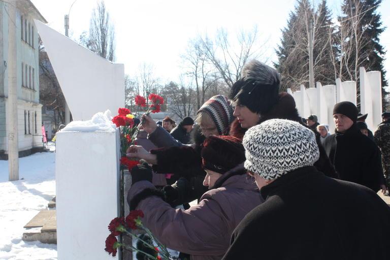 В Покрове чествовали участников боевых действий на территории других государств (+ВИДЕО)