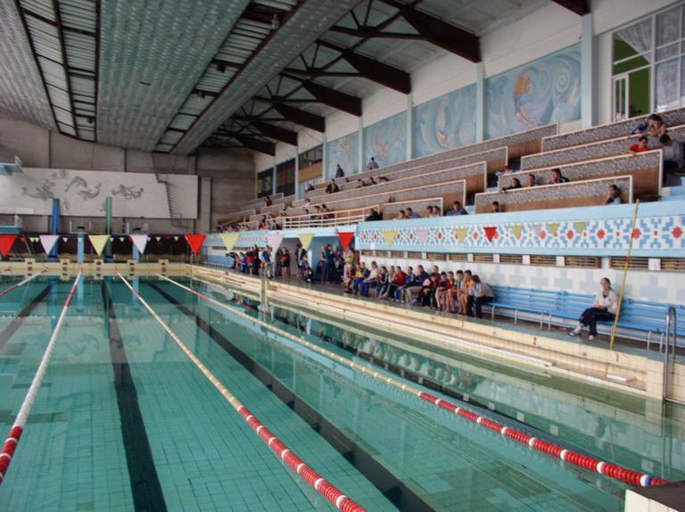 В бассейн поедешь в… Никополь?