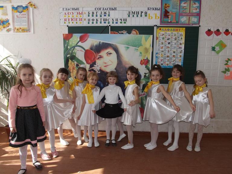 Ученики CЗШ № 4 подготовили поздравления к 8-марта!