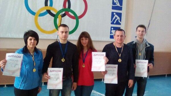 На Кубку області наші гирьовики забрали п'ять медалей