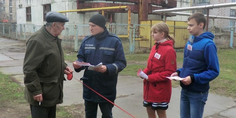 Рятувальники продовжують навчати населення  вимогам пожежної безпеки