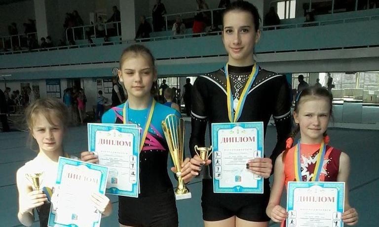 Гімнасти стали чемпіонами Дніпропетровщини