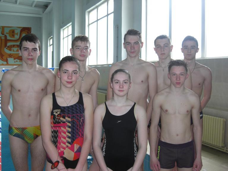 Наши пловцы на всеукраинском пьедестале