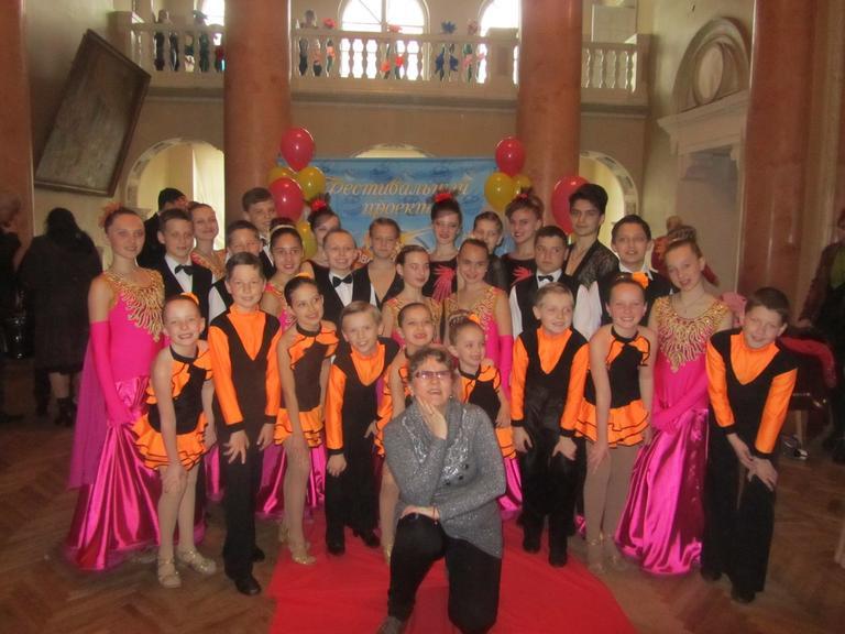 Танцоры «Феерии» - лауреаты Всеукраинского фестиваля