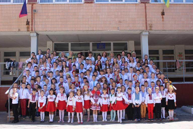День вишиванки у школі №9 м. Покров