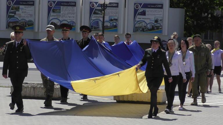 В Покрове начали отмечать День Европы в Украине (ВИДЕО)