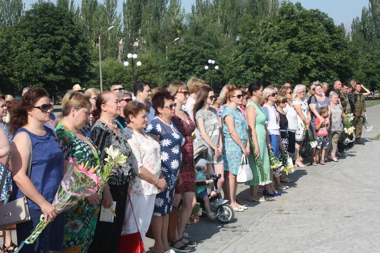 Митинг, посвященный Дню Конституции Украины (ФОТО, ВИДЕО)