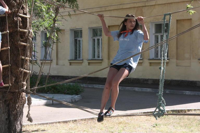 В парке им. Б. Мозолевского прошел квест, посвященный здоровому образу жизни (ФОТО, ВИДЕО)