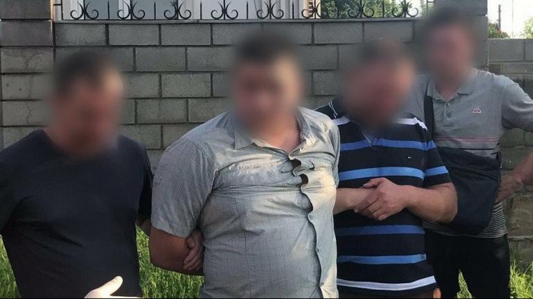 СБУ спіймала на хабарі підполковника поліції Дніпропетровщини (ВИДЕО)