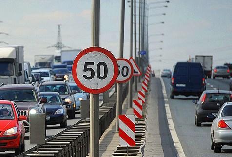 В Украине снизят скорость движения в населенных пунктах до 50 км/ч