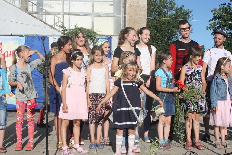 Купальские забавы на площади им. Ивана Сирко (ФОТО, ВИДЕО)