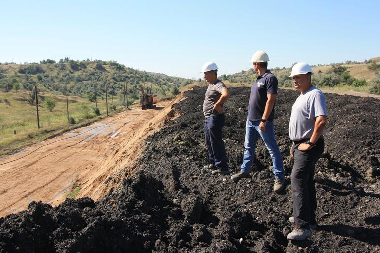Новый рудный склад Чкаловского карьера № 2 начал свою работу