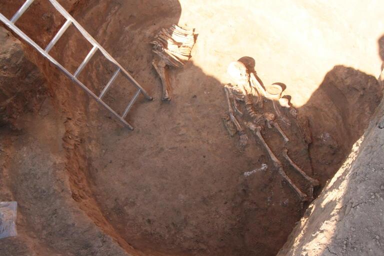 За сприянням ПОКРОВСЬКОГО ГЗК археологи віднайшли скіфську амазонку