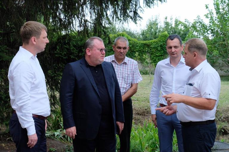 Наш город посетил губернатор (ДОБАВЛЕНО ВИДЕО)