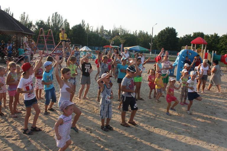 Развлекательная программа для детей от Молодежного совета Покрова (ФОТО, ВИДЕО)