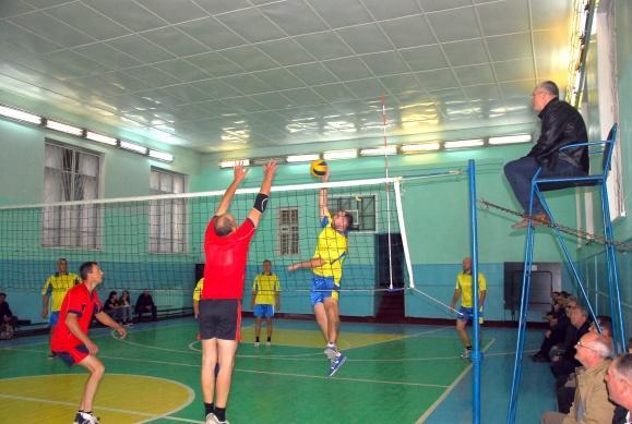Кубок профкома по шашкам и финальные игры по волейболу