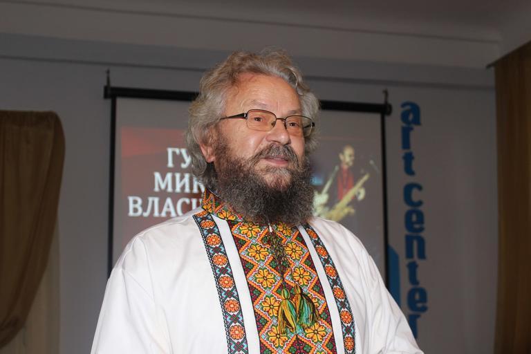 Людина-оркестр: творча зустріч з Миколою Гулеєм (ФОТО, ВИДЕО)