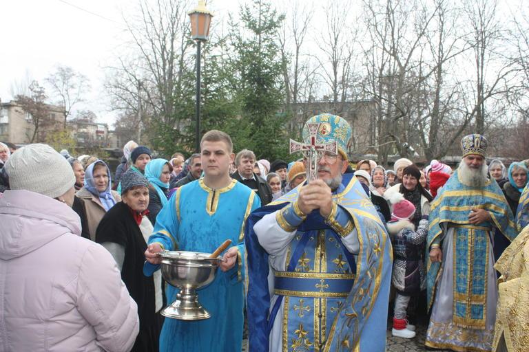 Свято-Михайловский храм отметил престольный праздник (ФОТО, ВИДЕО)