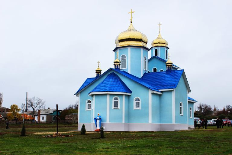 В Шолохово освятили новую церковь (ФОТО, ВИДЕО)