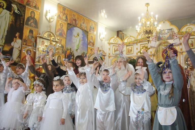 Рождество в храме Иоанна Богослова (добавлено ВИДЕО)