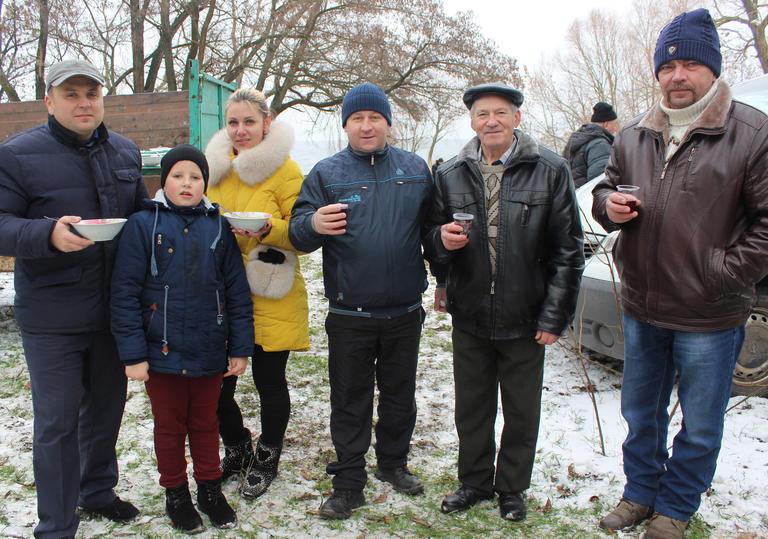 Хрещення Господнє у Грушівці відзначили святом на березі водосховища (ФОТО, ВІДЕО)