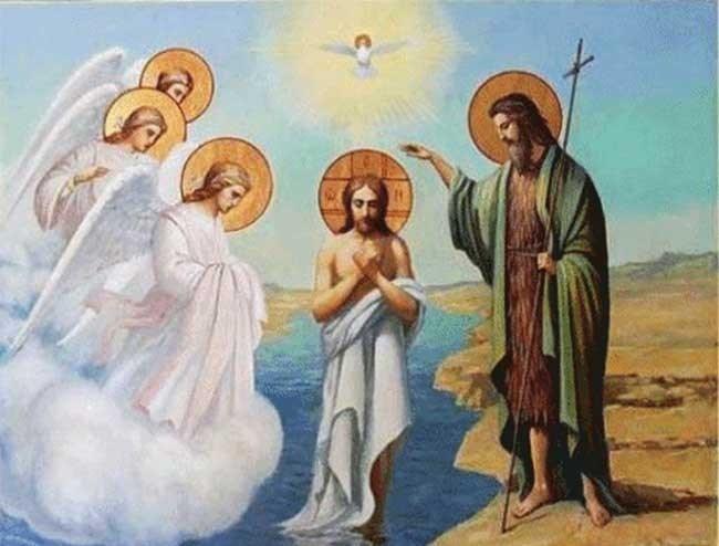 КРЕЩЕНИЕ ГОСПОДНЕ (БОГОЯВЛЕНИЕ) - ВЕЛИКИЙ ДВУНАДЕСЯТЫЙ ПРАЗДНИК…