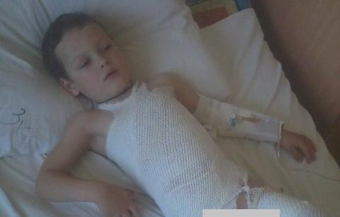Жители города организовывают благотворительную акцию в помощь маленькому Даниилу Афонскому