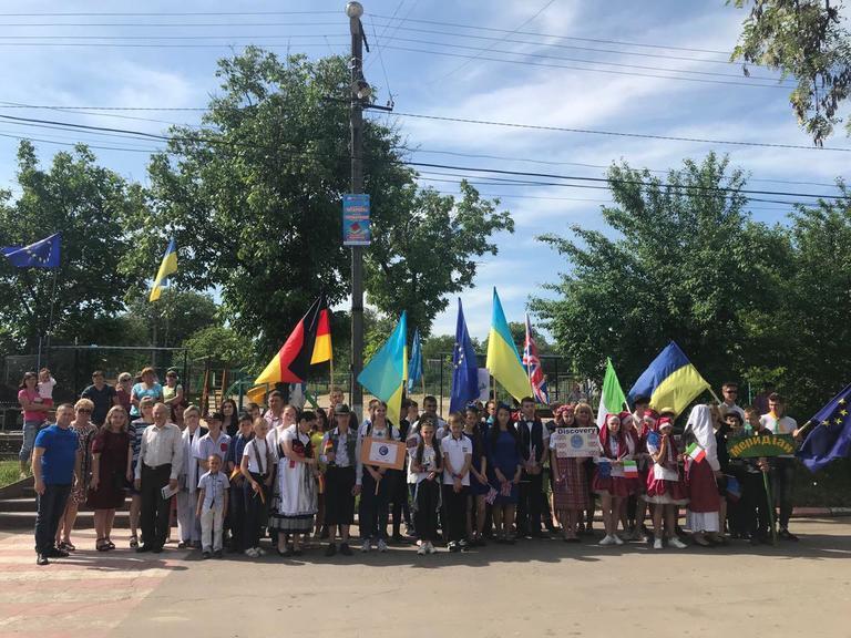 «Еврофест» в Токовском: как соседи отмечали День Европы (ФОТО, ВИДЕО)