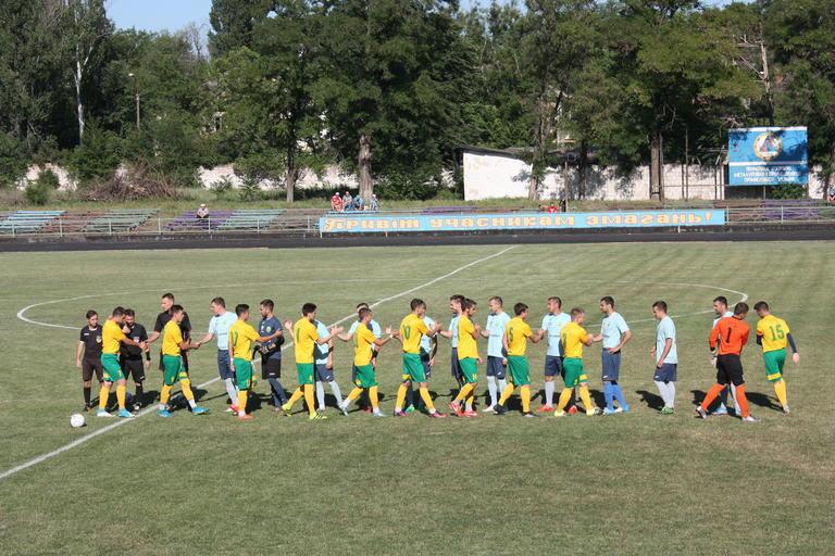Футбол: покровский «Авангард» принял на своем поле «Обрий» из Никополя (ВИДЕО)