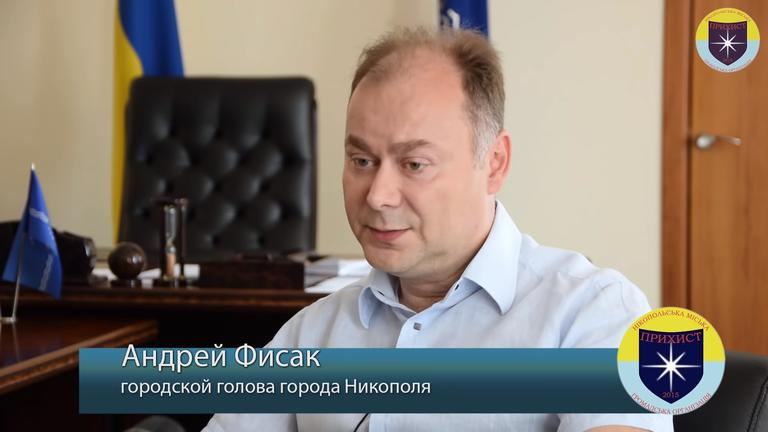 Мэр Никополя Андрей Фисак – о различиях наших городов (ВИДЕО)