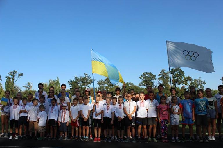 Как Покров подошел ко Дню Независимости Украины: митинг, забег в вышиванках и песенный фестиваль (ФОТО, ВИДЕО)