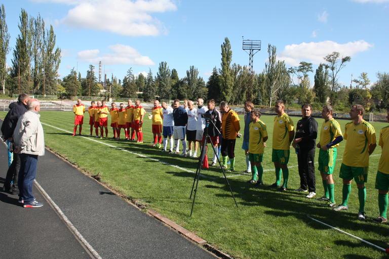 Турнир дружбы: в Покрове играли ветераны футбола (ФОТО, ВИДЕО)