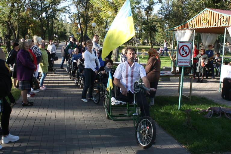 «Крылья жизни»: в городском парке прошел особенный марафон (ФОТО, ВИДЕО)